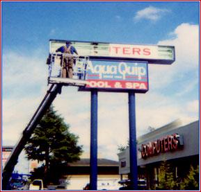 Sign-Tech Electric LLC Pole Sign Maintenance and Repair